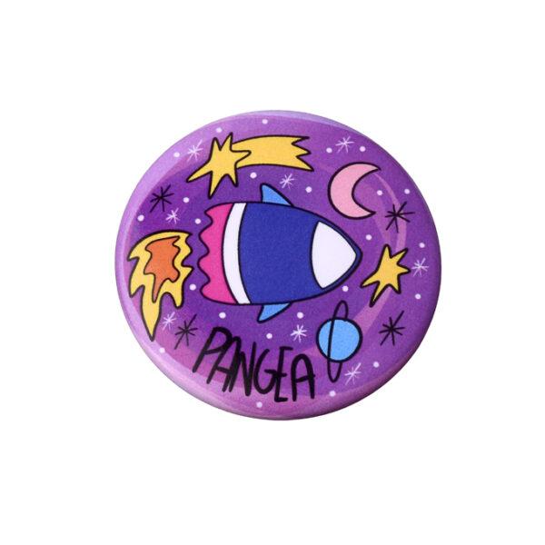 Pins-B-viaggio Astronave bomboniera Pangea