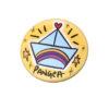 Pins-B-viaggio Barchetta bomboniera Pangea